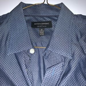 Banana Republic Long Sleeve Dress Shirt M